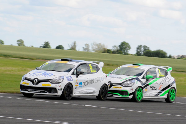 2015 Renault Clio Cup, Croft, 27th-28th June 2015, Paul Donkin (GBR) SV Racing Renault Clio  World copyright. Jakob Ebrey/LAT Photographic