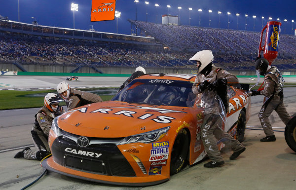 9-10 July, 2015, Sparta, Kentucky USA  Daniel Suarez, Arris Toyota Camry ?2015, Brett Moist LAT Photo USA
