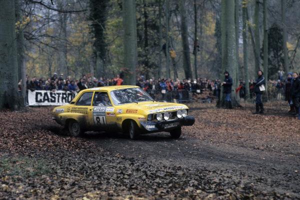 Hans-Peter Herrmann / Konrad Schmidt, Opel Ascona.