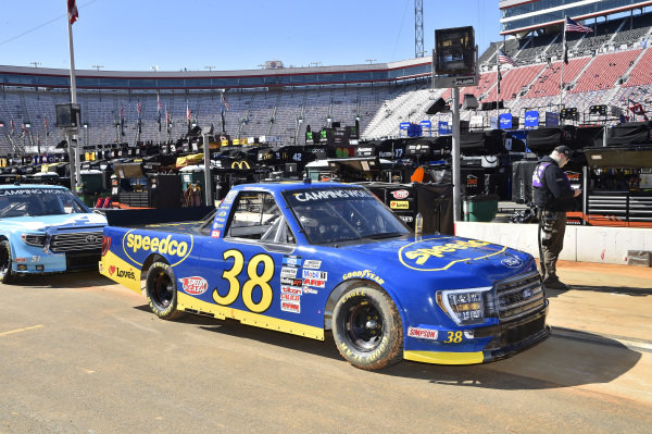 #38: Todd Gilliland, Front Row Motorsports, Ford F-150 Speedco