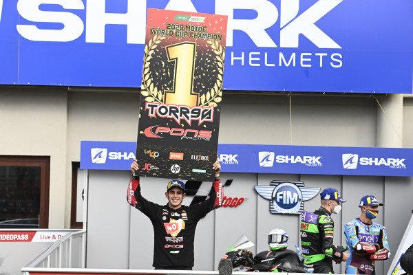 Champion Jordi Torres, Pons Racing 40.