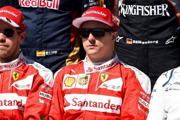 Kimi Raikkonen (FIN) Ferrari at Formula One World Championship, Rd1, Australian Grand Prix, Race, Albert Park, Melbourne, Australia, Sunday 20 March 2016.