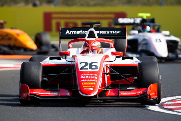 HUNGARORING, HUNGARY - AUGUST 02: Marcus Armstrong (NZL, PREMA Racing) during the Hungaroring at Hungaroring on August 02, 2019 in Hungaroring, Hungary. (Photo by Joe Portlock / LAT Images / FIA F3 Championship)