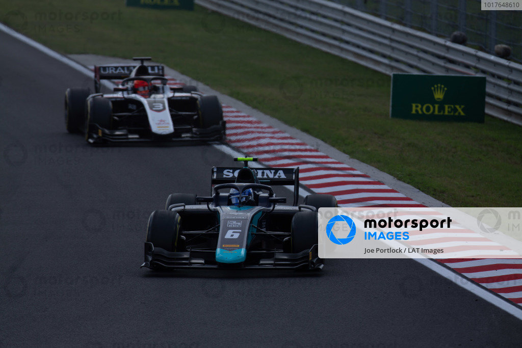 HUNGARORING, HUNGARY - AUGUST 04: Nicholas Latifi (CAN, DAMS) during the Hungaroring at Hungaroring on August 04, 2019 in Hungaroring, Hungary. (Photo by Joe Portlock / LAT Images / FIA F2 Championship)