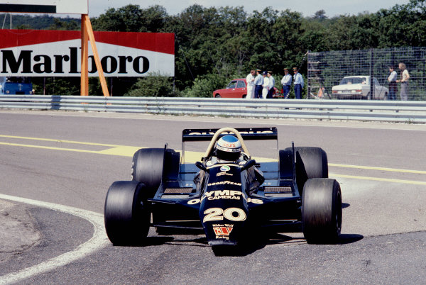 1979 French Grand Prix.Dijon-Prenois, France.29/6-1/7 1979.Keke Rosberg (Wolf WR8 Ford) 9th position.Ref-79 FRA 16.World Copyright - LAT Photographic