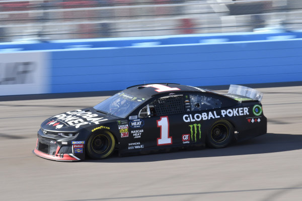 #1: Kurt Busch, Chip Ganassi Racing, Chevrolet Camaro Global Poker