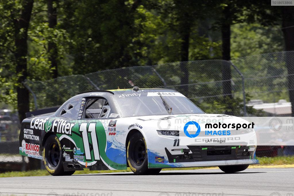 #11: Justin Haley, Kaulig Racing, Chevrolet Camaro LeafFilter Gutter Protection