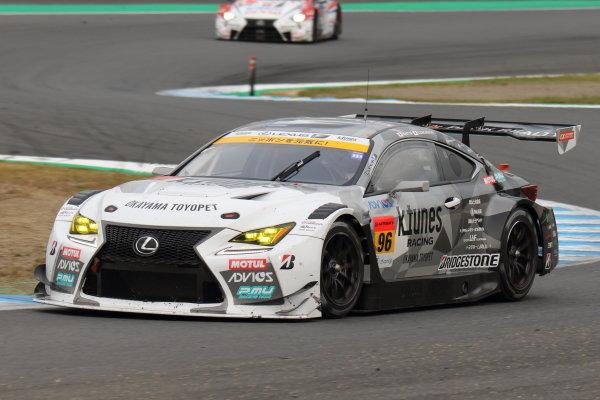 Morio Nitta & Sena Sakaguchi, LM Corsa K-Tunes Lexus RC F GT3, third in GT300