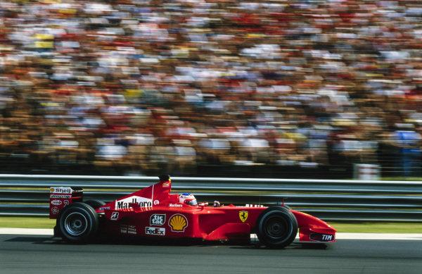 Rubens Barrichello, Ferrari F2001.