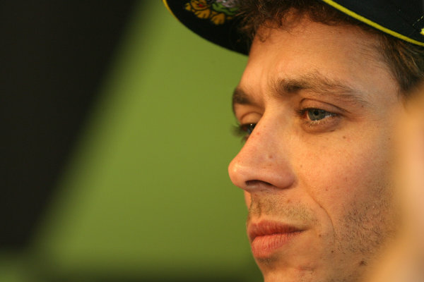France LeMans. Round 3.  21st - 23rd May 2010 Valentino Rossi Fiat Yamaha Team