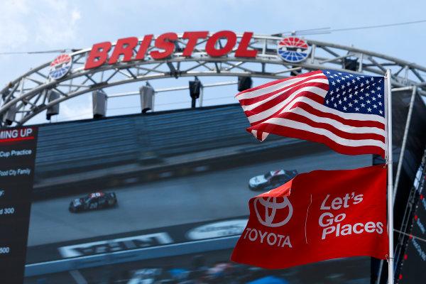 NASCAR Xfinity Series Fitzgerald Glider Kits 300 Bristol Motor Speedway, Bristol, TN USA Friday 21 April 2017 Erik Jones, Reser's American Classic Toyota Camry World Copyright: Lesley Ann Miller LAT Images
