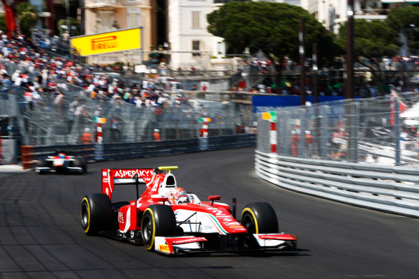 2017 FIA Formula 2 Round 3. Monte Carlo, Monaco. Saturday 27 May 2017. Antonio Fuoco (ITA, PREMA Racing)  Photo: Zak Mauger/FIA Formula 2. ref: Digital Image _X4I9586