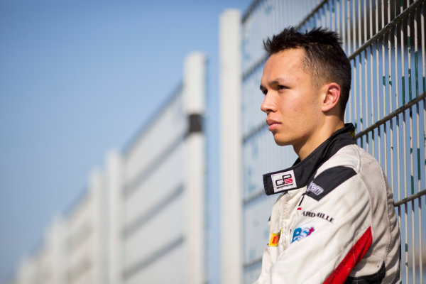 Circuit de Barcelona Catalunya, Barcelona, Spain. Wednesday 15 March 2017. Alexander Albon (THA, ART Grand Prix).  Photo: Alastair Staley/FIA Formula 2 ref: Digital Image 585A0327