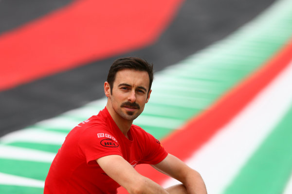 2017 Superbike World Championship - Round 5 Imola, Italy. Thursday 11 May 2017 Eugene Laverty, Milwaukee Aprilia World Superbike Team World Copyright: Gold and Goose Photography/LAT Images ref: Digital Image 669321