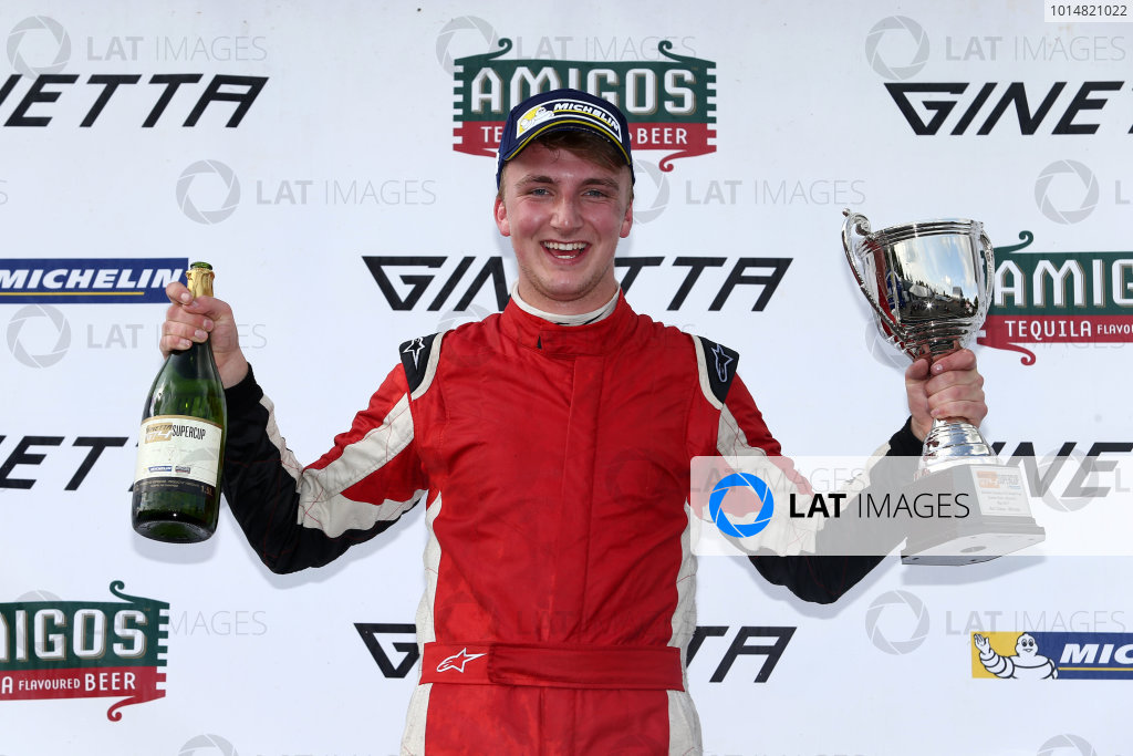 2017 Ginetta GT4 Supercup  Oulton Park, 20th-21st May 2017, Jac Constable Xentek Motorsport Ginetta G55 World copyright. JEP/LAT Images
