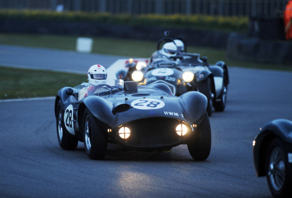 2016 74th Members Meeting Goodwood Estate, West Sussex,England 19th - 20th March 2016 Race 12 Peter Collins Trophy Abecassis HWM World Copyright : Jeff Bloxham/LAT Photographic Ref : Digital Image