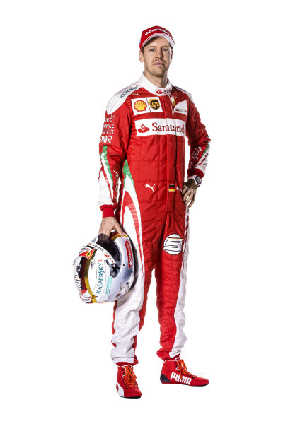 Ferrari SF16-H Reveal. Friday 19 February 2016. Sebastian Vettel, Ferrari.  Photo: Ferrari (Copyright Free FOR EDITORIAL USE ONLY) ref: Digital Image 160007_new-SF16-h_SV_2016