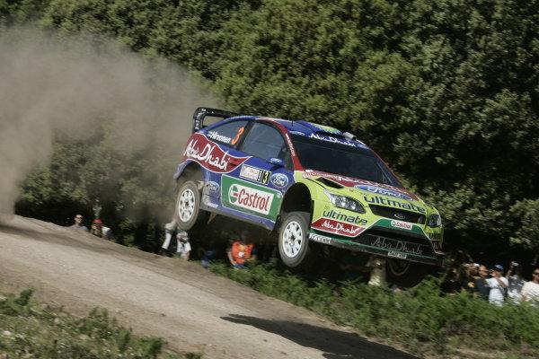 Round 6Rally d'Italia Sardinia 200921st - 24th  May 2009Mikko Hirvonen, Ford, WRC, ActionWorldwide Copyright: McKlein/LAT