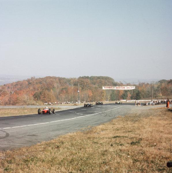 Watkins Glen, New York, USA.4-6 October 1963.An atmospheric view of the circuit.Ref-3/1050.World Copyright - LAT Photographic