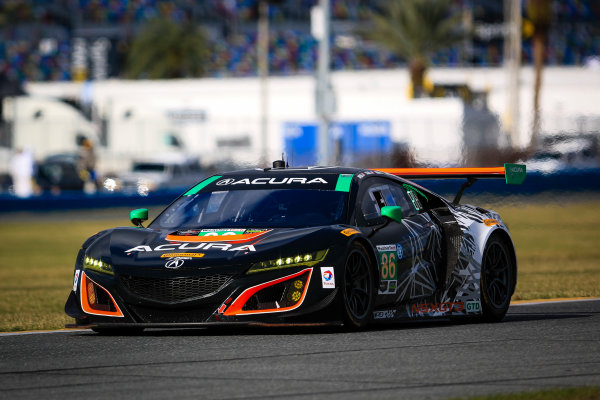 5-8 January, 2017, Daytona Beach, Florida USA 86, Acura, Acura NSX, GTD, Oswaldo Negri Jr., Tom Dyer, Jeff Segal ©2017, Barry Cantrell LAT Photo USA