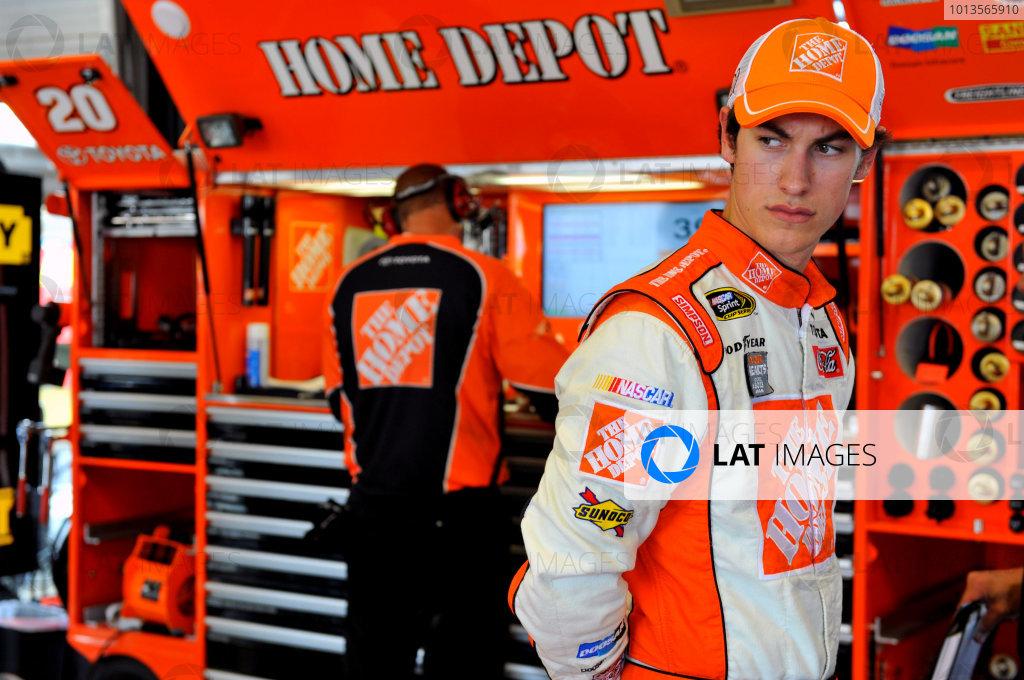 7-9 July, 2011, Sparta, Kentucky USAJoey Logano, The Home Depot Toyota Camry(c)2011, LAT SouthLAT Photo USA