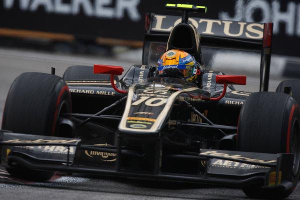 Marina Bay Circuit, Singapore. 23rd September 2012. Sunday Race.Esteban Gutierrez (MEX, Lotus GP). Action. World Copyright: Alastair staley/GP2 Media Serviceref: Digital Image _O9T1477.jpg