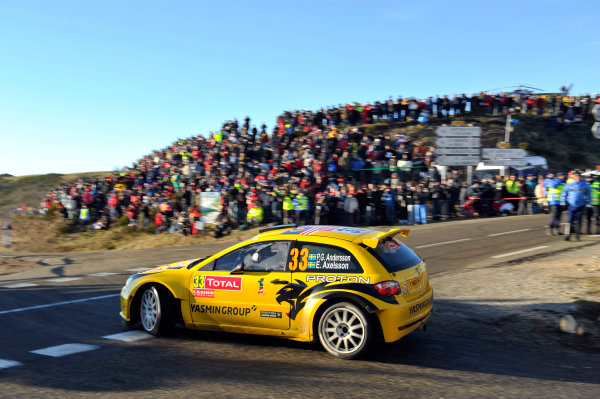 Round 01-Rally Monte Carlo 17-22 January 2012. PG Andersson, Proton S2000, ActionWorldwide Copyright: McKlein/LAT