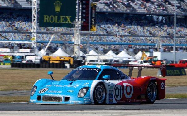 26-29 January, 2012, Daytona Beach, Florida USAThe #01 BMW Riley of Scott Pruett, Memo Rojas, Graham Rahal and Joey Hand is shown in action during the Rolex 24 at Daytona.(c)2012, R D. EthanLAT Photo USA