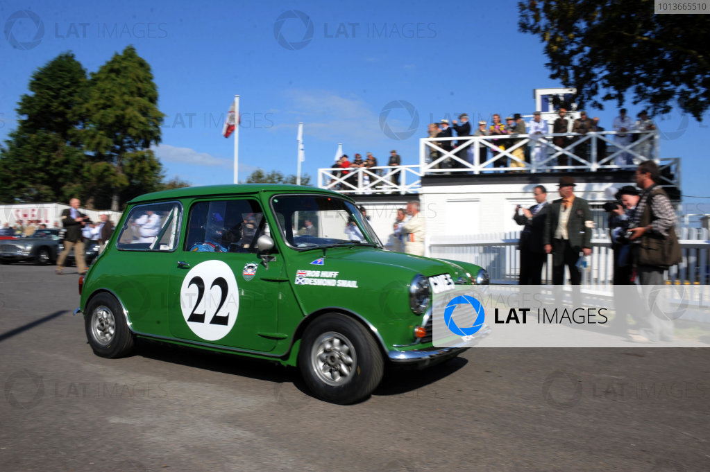 Goodwood Estate, West Sussex, 15th - 18th September 2011 St Mary's Trophy Desmond SMAIL, Morris Mini Cooper S. World Copyright:Jeff Bloxham/LAT Photographic Ref: Digital Image