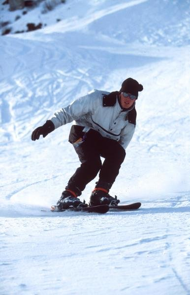 Alexander Wurz enjoys skiing when not racing.Formula One Drivers At Home.