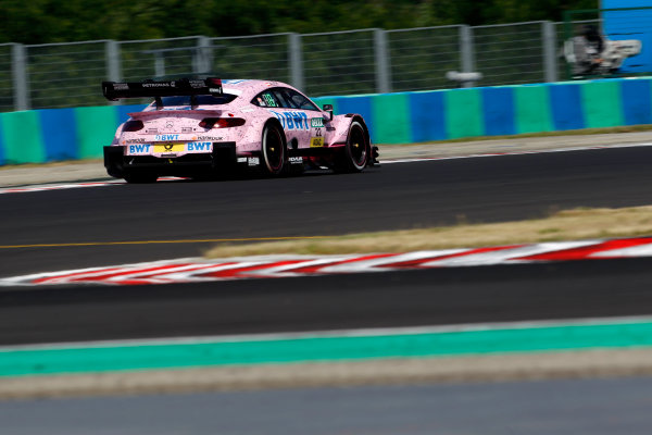 2017 DTM Round 3 Hungaroring, Budapest, Hungary. Sunday 18 June 2017. Lucas Auer, Mercedes-AMG Team HWA, Mercedes-AMG C63 DTM World Copyright: Alexander Trienitz/LAT Images ref: Digital Image 2017-DTM-R3-HUN-AT1-2452