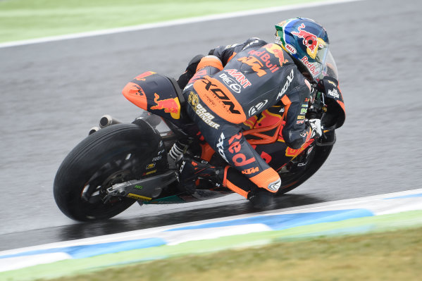2017 Moto2 Championship - Round 15 Motegi, Japan. Friday 13 October 2017 Brad Brad Binder, Red Bull KTM Ajo World Copyright: Gold and Goose / LAT Images ref: Digital Image 21409
