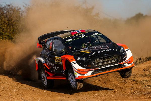 2017 FIA World Rally Championship, Round 11, Rally RACC Catalunya / Rally de España, 5-8 October, 2017, Mads Ostberg, Ford, action, Worldwide Copyright: LAT/McKlein