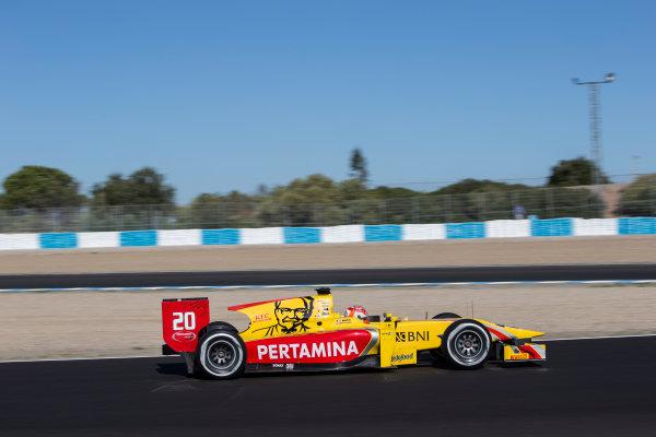 2017 FIA Formula 2 Round 10. Circuito de Jerez, Jerez, Spain. Friday 6 October 2017. Norman Nato (FRA, Pertamina Arden).  Photo: Andrew Ferraro/FIA Formula 2. ref: Digital Image _FER9914