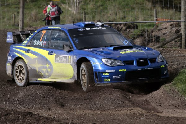 2007 FIA World Rally Champs. Round 11Rally New Zeland, 31st  August - 2nd  September 2007Petter Solberg, Subaru, actionWorld Copyright: McKlein/LAT