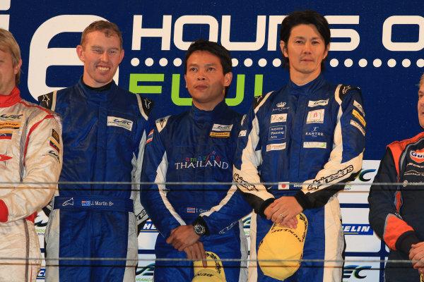 Fuji Speedway, Japan, 12th-14th October, 2012,John Martin/Shinji Nakano/Tor Graves ADR Delta ORECA 03 NissanWorld Copyright Ebrey/LAT Photographic