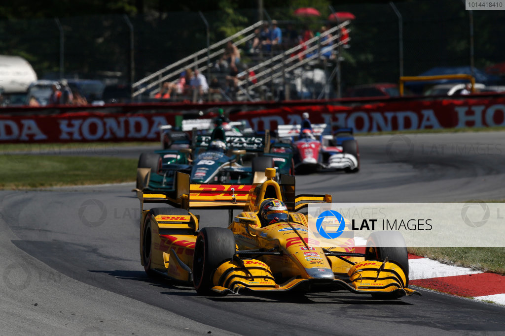 31 July - 2 August, 2015, Lexington, Ohio, USA Ryan Hunter-Reay © 2015, Michael L. Levitt LAT Photo USA