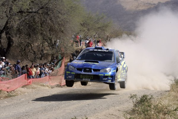2006 FIA World Rally Champs. Round Three; Rally Mexico.; 2nd - 5th March 2006.Chris Atkinson, Subaru, Action. World Copyright: LAT/McKlein