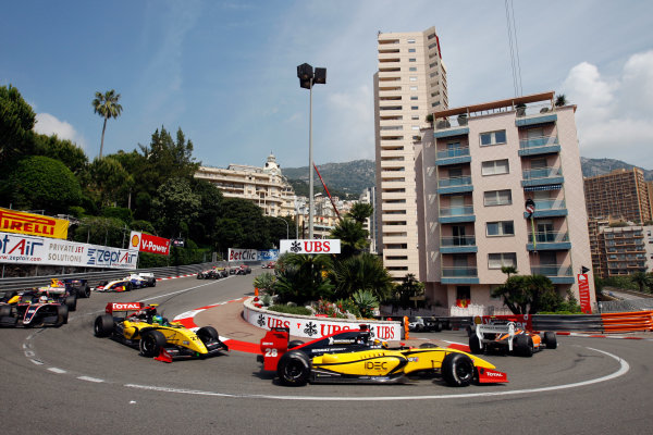 MONTE CARLO (MCO) MAY 24-27 2012 - Second Round of the Formula Renault 3 5 Series 2012 at Monte Carlo, Monaco. #28 Arthur Pic (FRA), DAMS. Action. © 2012 Ronald Fleurbaaij / LAT Photographic