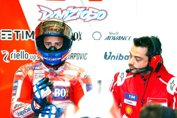2017 MotoGP Championship - Round 16 Phillip Island, Australia. Saturday 21 October 2017 Andrea Dovizioso, Ducati Team World Copyright: Gold and Goose / LAT Images ref: Digital Image 699314
