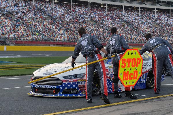 15-16 May, 2015, Concord, North Carolina, USA Michael McDowell, Leavine Family Racing (95) ? 2015, John Harrelson / LAT Photo USA