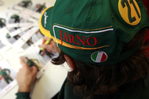 Albert Park, Melbourne, Australia24th March 2011.Jarno Trulli, Team Lotus Renault T128.World Copyright: Charles Coates/LAT Photographicref: Digital Image _X5J6006