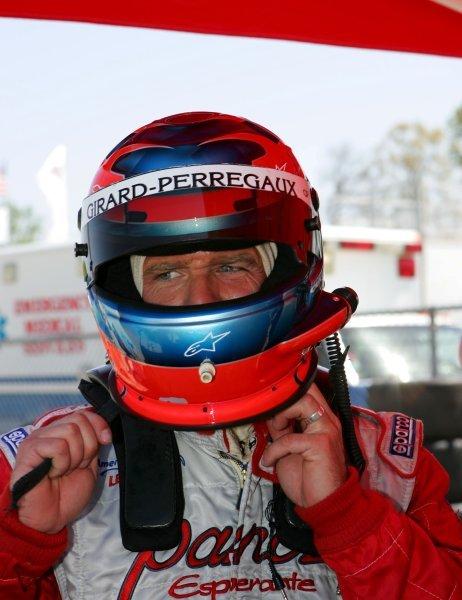 Bill Auberlen (USA) Panoz Motorsports won the GT2 class. American Le Mans Series, Rd2, Road Atlanta, USA, 17 April 2005. DIGITAL IMAGE