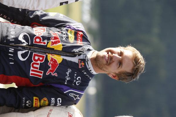 Red Bull Ring, Spielberg, Austria. Saturday 21 June 2014. Sebastian Vettel, Red Bull Racing RB10 Renault. World Copyright: Charles Coates/LAT Photographic. ref: Digital Image _J5R0003