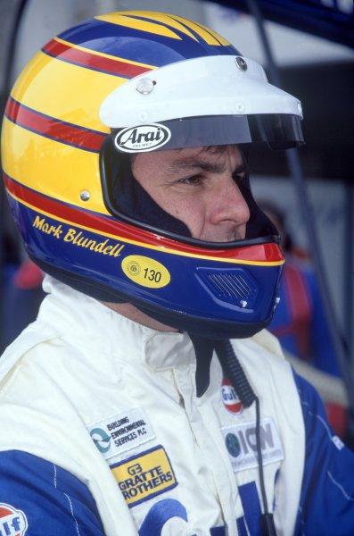 1995 Le Mans 24 Hours. Le Mans, France. 17th - 18th June 1995. Mark Blundell  (McLaren F1 GTR) portrait. World Copyright: LAT Photographic ref: 95LM07.