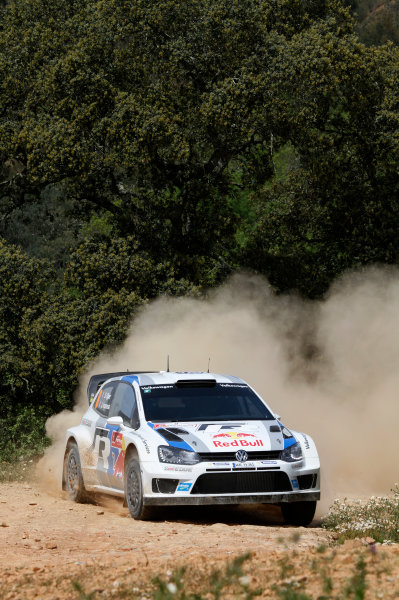 2013 World Rally Championship Rally Portugal 11th - 14th April 2013 Sebastien Ogier, VW, action Worldwide Copyright: McKlein/LAT