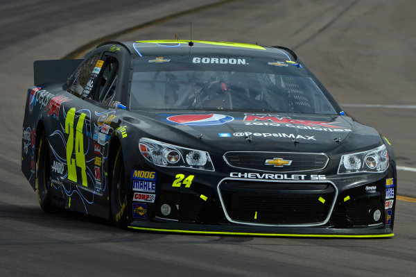 March 1-3, 2013 Avondale, Arizona USA Jeff Gordon car.(c) 2013, Brian Czobat LAT Photo USA .