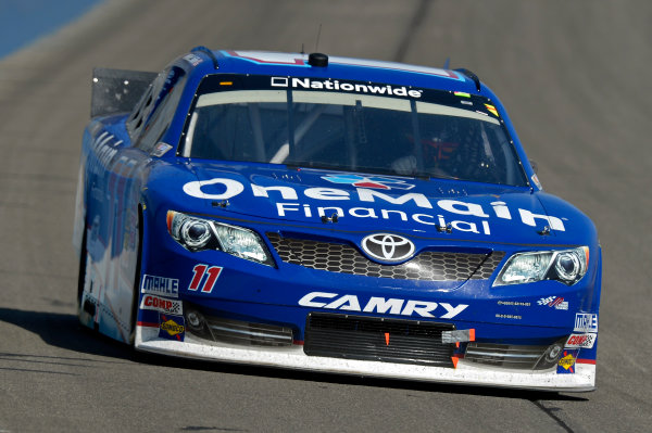 March 22-23, 2013 Fontana, California USA Elliott Sadler, One Main Financial Toyota Camry car © 2013, Brian Czobat LAT Photo USA .