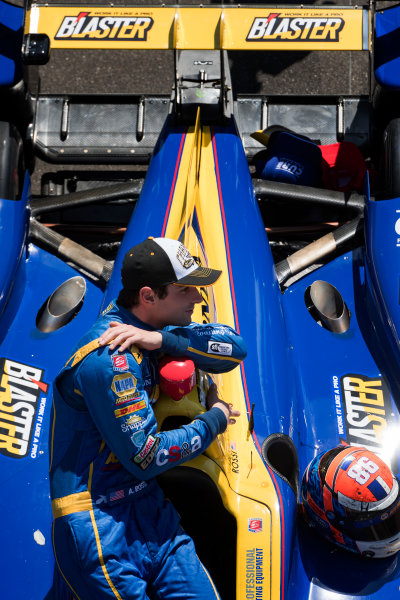 30 May, 2016, Indianapolis, Indiana, USA Alexander Rossi  ?2016, Scott R LePage  LAT Photo USA