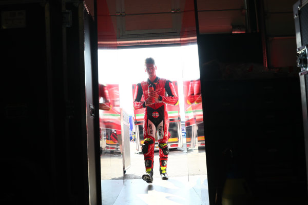 2017 Superbike World Championship - Round 7 Misano, Italy. Friday 16 June 2017 Lorenzo Savadori, Milwaukee Aprilia World Copyright: Gold and Goose Photography/LAT Images ref: Digital Image WSBK-300-5418